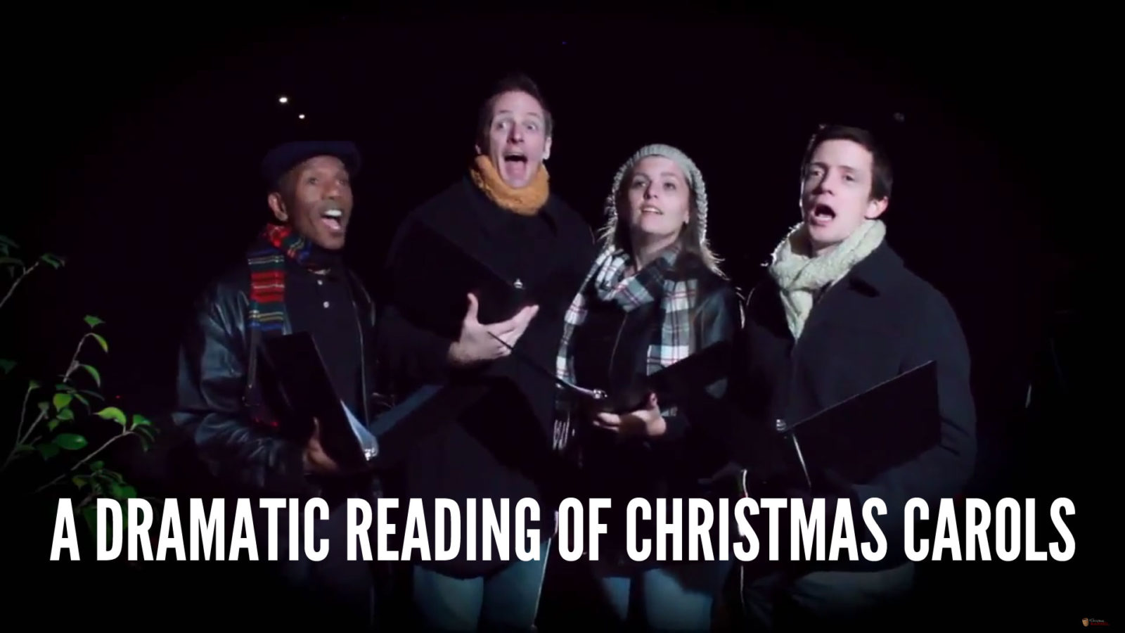 A Dramatic Reading of Christmas Carols
