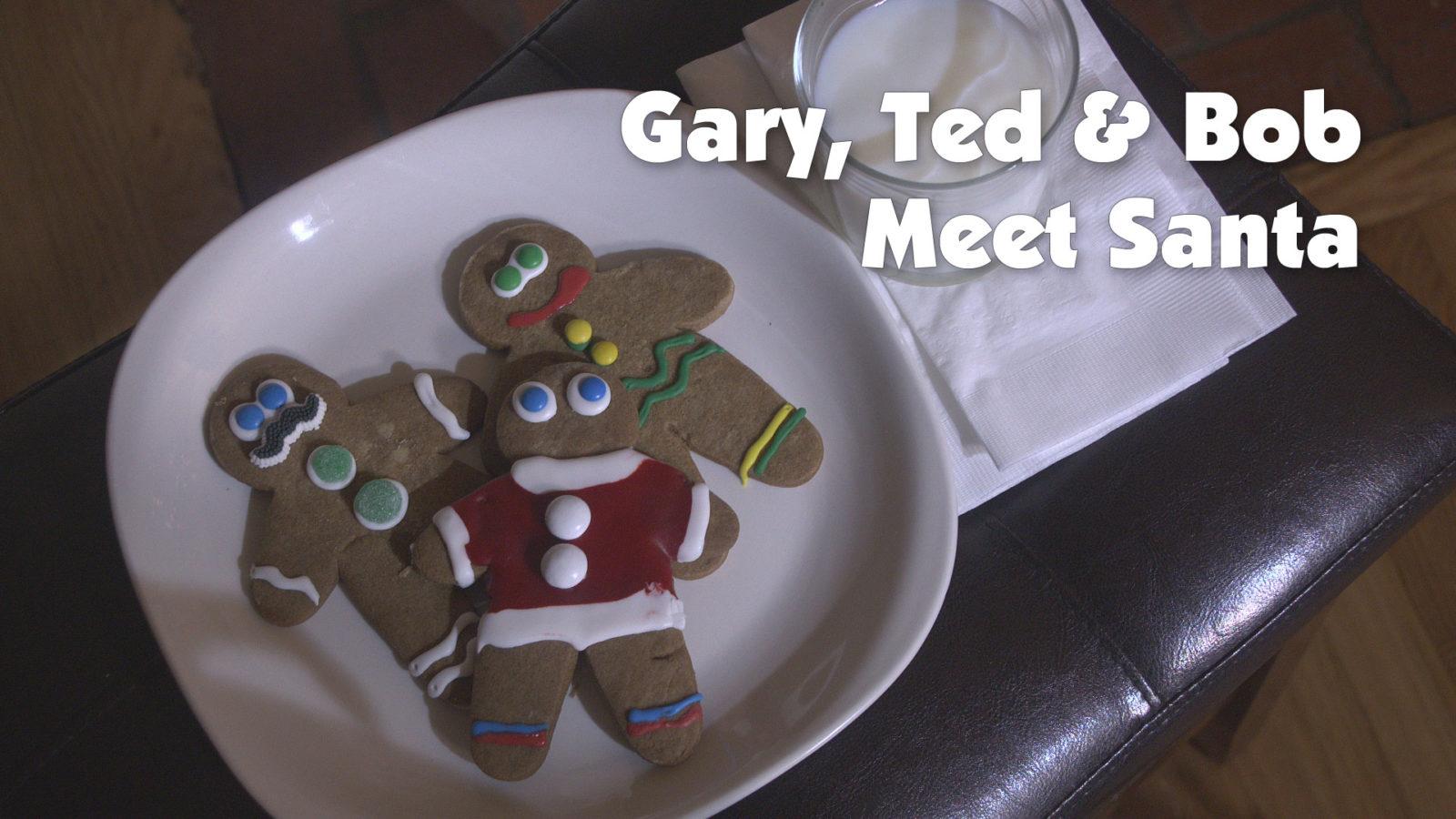 Gary, Ted & Bob Meet Santa
