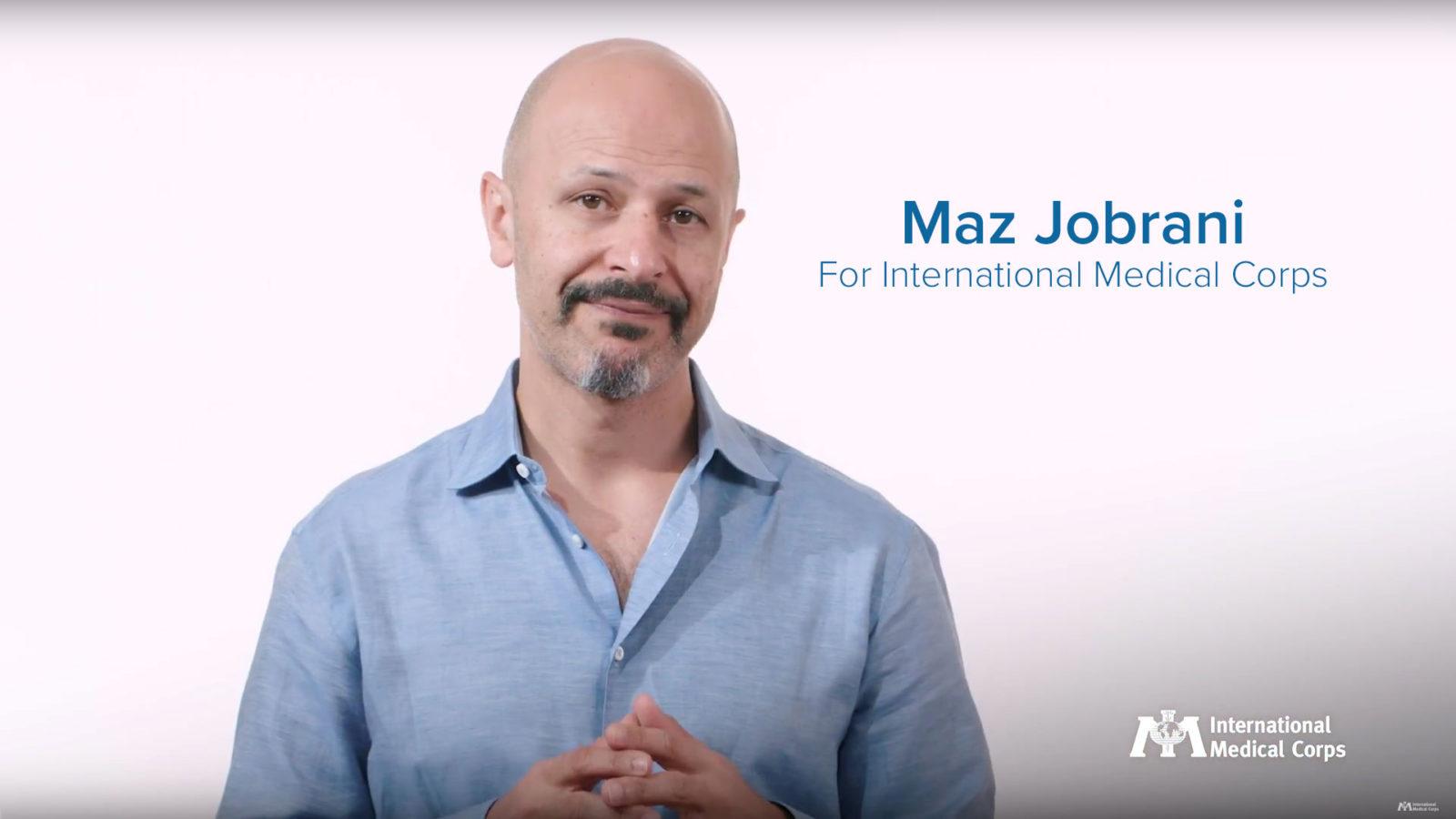 Maz Jobrani for International Medical Corps