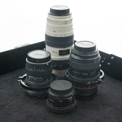 Canon EF and Other Professional Lenses