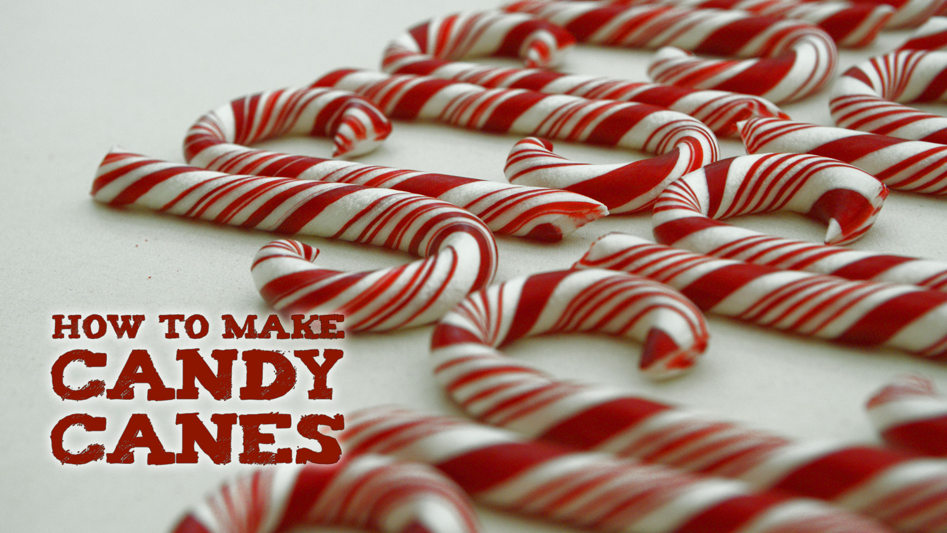 How to Make Candy Canes